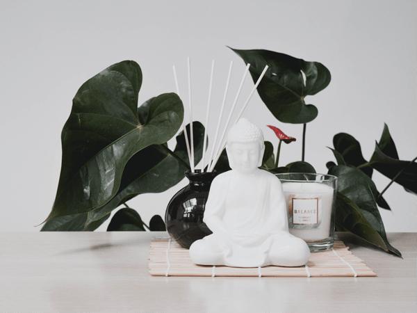 holistisch, buddha, ondernemen, pad, universum