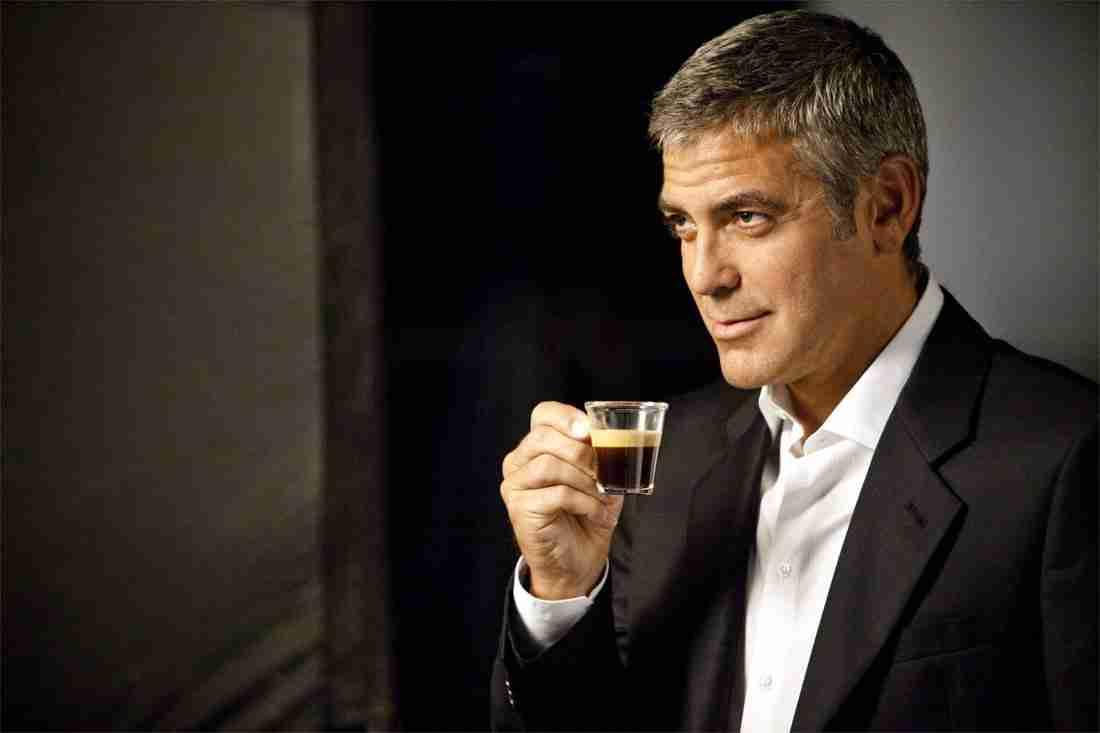 triggerwoorden, george clooney, koffie